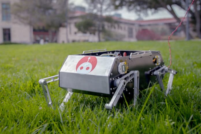Doggo, a four-legged bot can dance, backflip, jump and trot