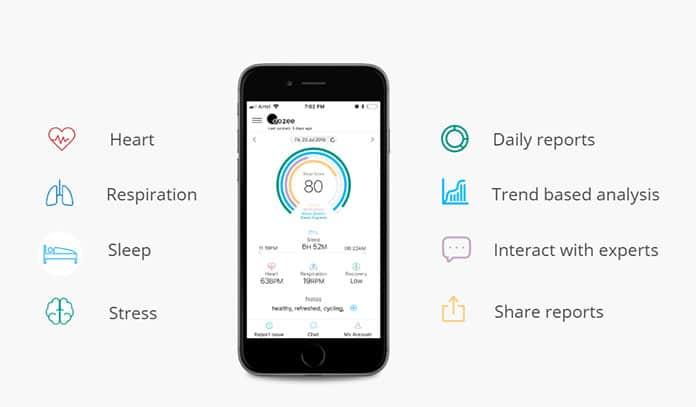 Dozee mobile App