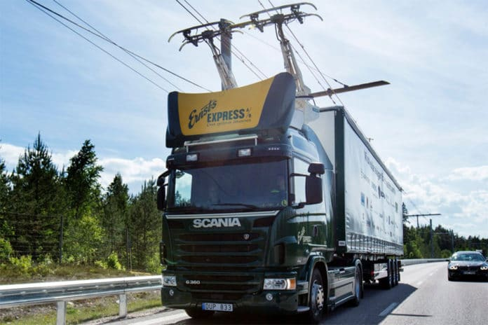 Germany has started testing its electric highway.