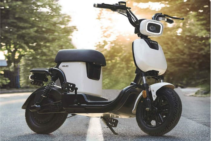 Xiomi Himo T1 electric moped