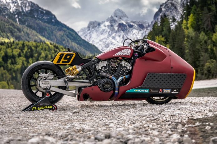 That's a weird-lookin' motorcycle(Credit: Indian Motorcycle)