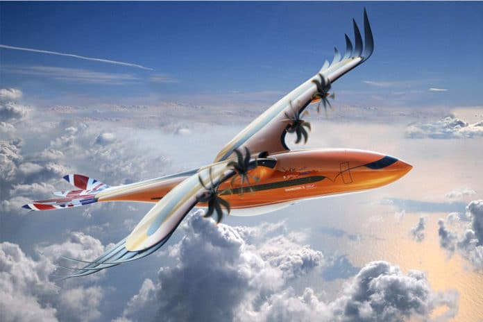 Airbus' bird-like conceptual airliner design