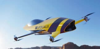 Airspeeder flying electric race car