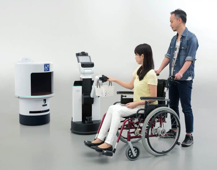 HSR Human Support Robot and DSR Delivery Support Robot