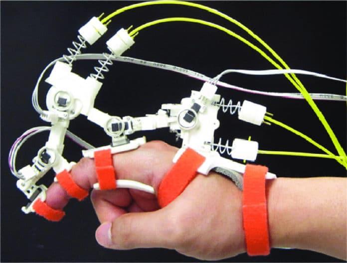 Index finger exoskeleton