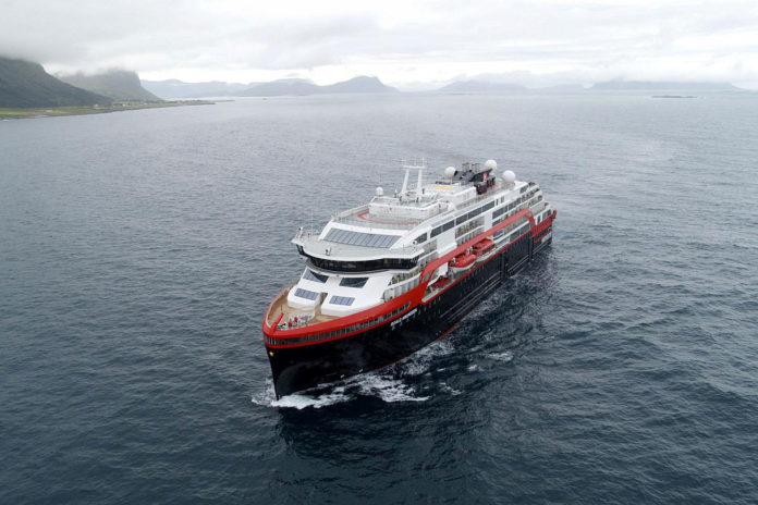 Hurtigruten's MS Roald Amundsen / Image: Hurtigruten
