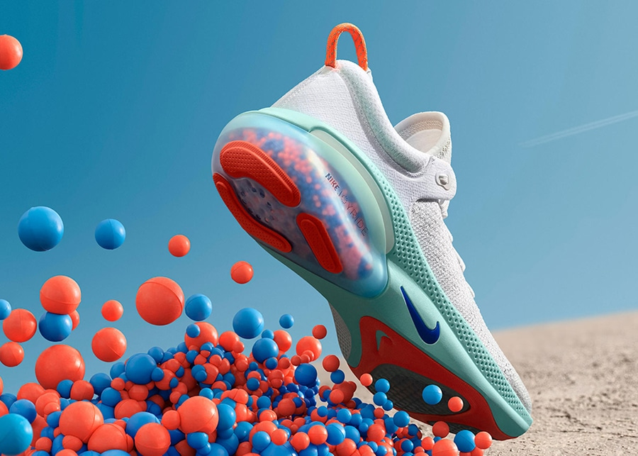 Nike's Joyride shoes use tiny beads to make your runs more comfortable/ Image Credit: Nike