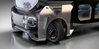 Wheels that turn 360 degrees