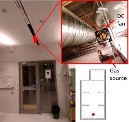 The nanodrone could be useful to detect the presence of victims in closed spaces which are hard to enter.