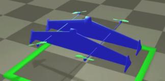 "Designing custom ""hybrid drones"" / Image: MIT CSAIL"