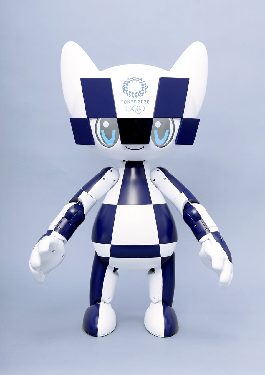 Tokyo 2020 Mascot Robot Miraitowa