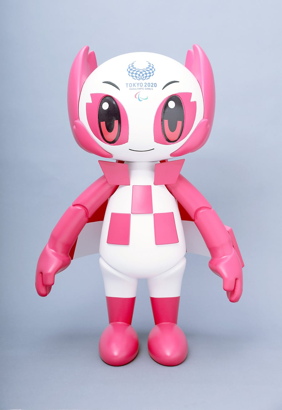 Tokyo 2020 Mascot Robot Someity