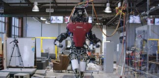 Watch Boston Dynamics' humanoid cleverly walking on the unsteady cinder block path