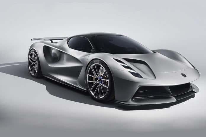 Lotus Evija: The world's first pure electric British hypercar/ Image: Lotus
