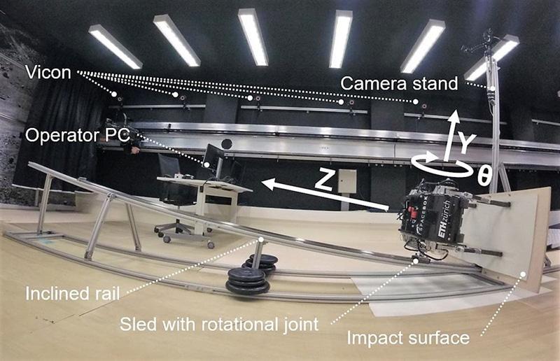 Simulating low-gravity conditions./ Image: ETH Zurich/ZHAW Zurich