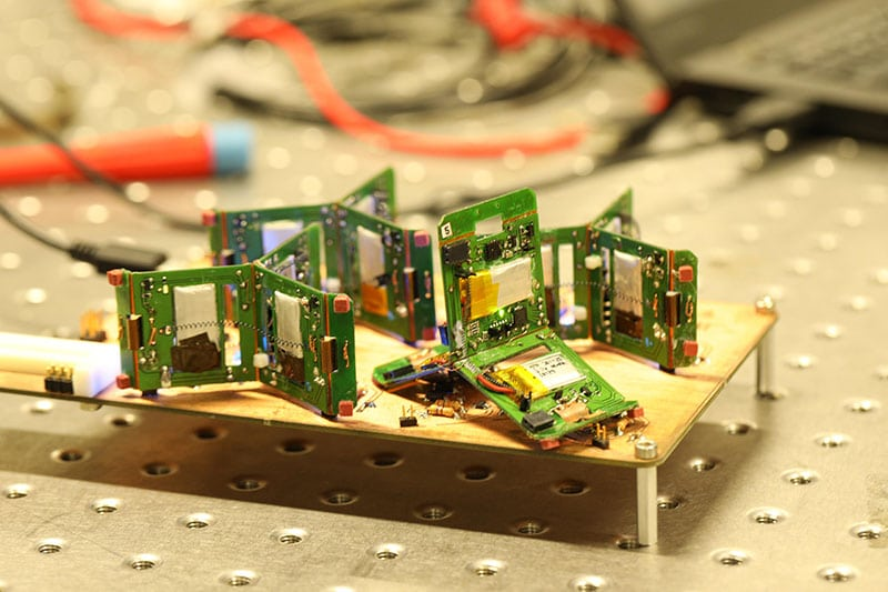 Robots inspired by trap-jaw ants./ Image: EPFL