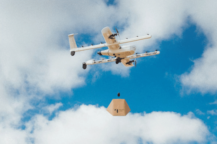 Alphabet's drone delivery system in Australia