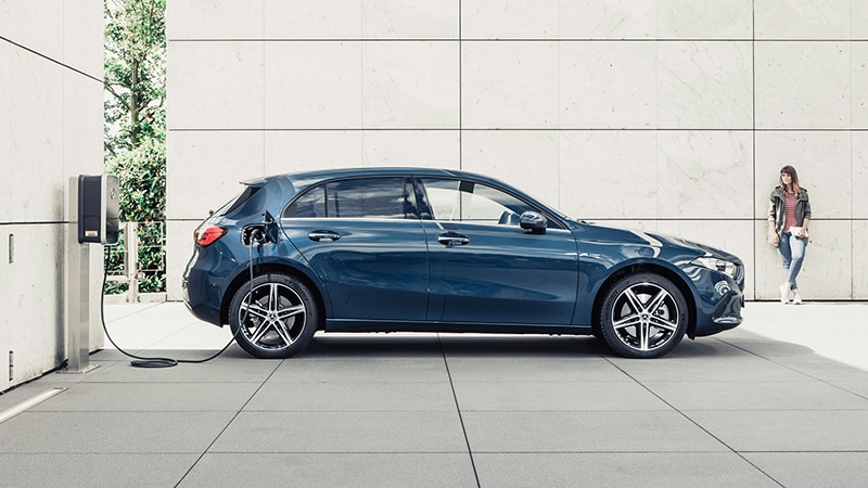 Mercedes-Benz A-Class Plug-in-Hybrid. Image Credit: Mercedes-Benz