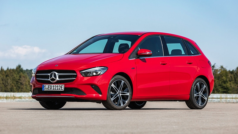 Mercedes-Benz Plug-in-Hybrid B250e. Image Credit: Mercedes-Benz