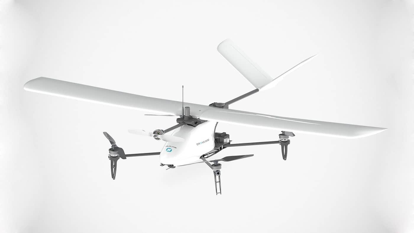 Heliplane v 2, a multi-mode UAV offers long flight endurance times