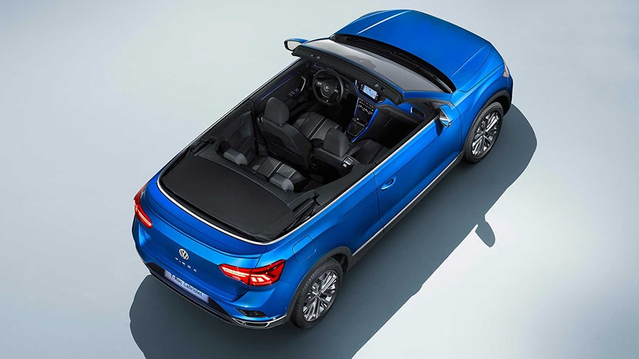 The T-Roc Cabriolet brings more diversity to the booming SUV market./ Image Credit: Volkswagen