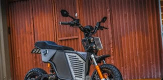The NKD - Fonzarelli's first full electric motorbike with mid-drive motor