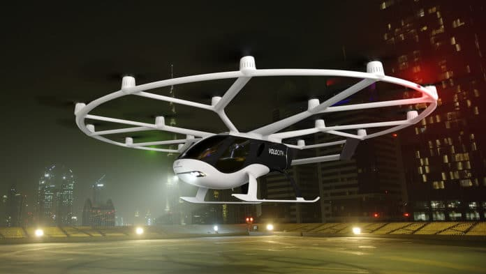 VoloCity to become first commercial Volocopter aircraft/ Image Credit: Volocopter