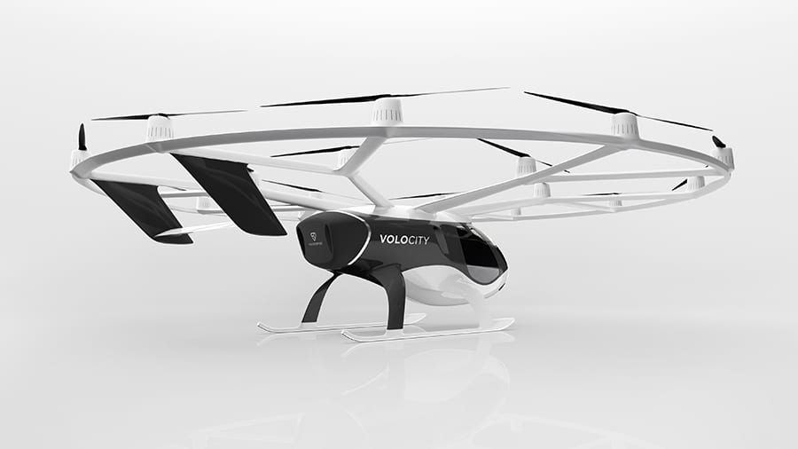 It incorporates learnings of over 1,000 test flights of previous Volocopter generations/ Image Credit: Volocopter