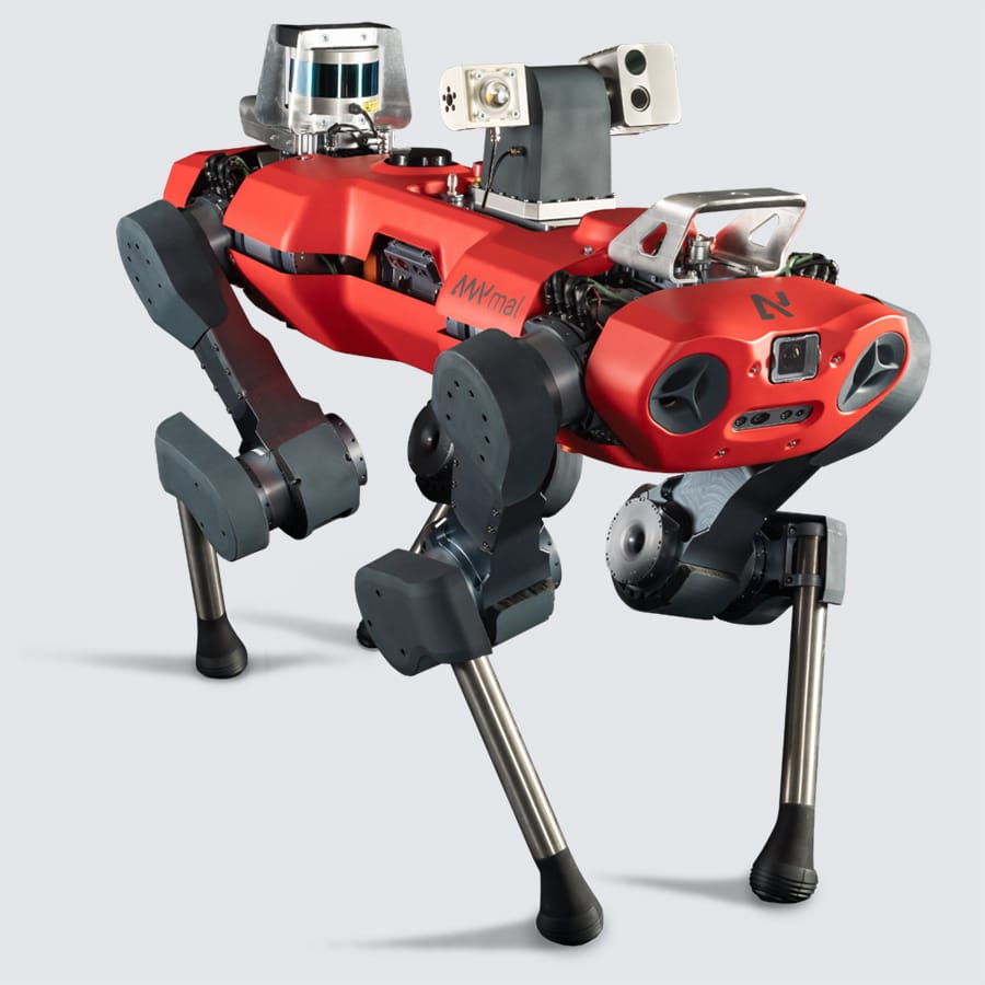 Autonomous legged robot ANYmal C./ Image Credit: ANYbotics