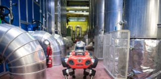 ANYmal C is optimized for industrial inspection tasks./ Image Credit: ANYbotics