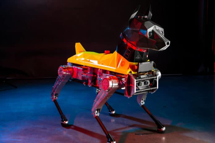 Astro robo-dog packs an AI-enabled