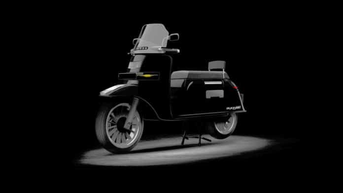 The Blacksmith B3 electric scooter