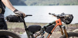 EVOC's brand new collection of rather innovative looking bikepacking bags. Image Credit: EVOC