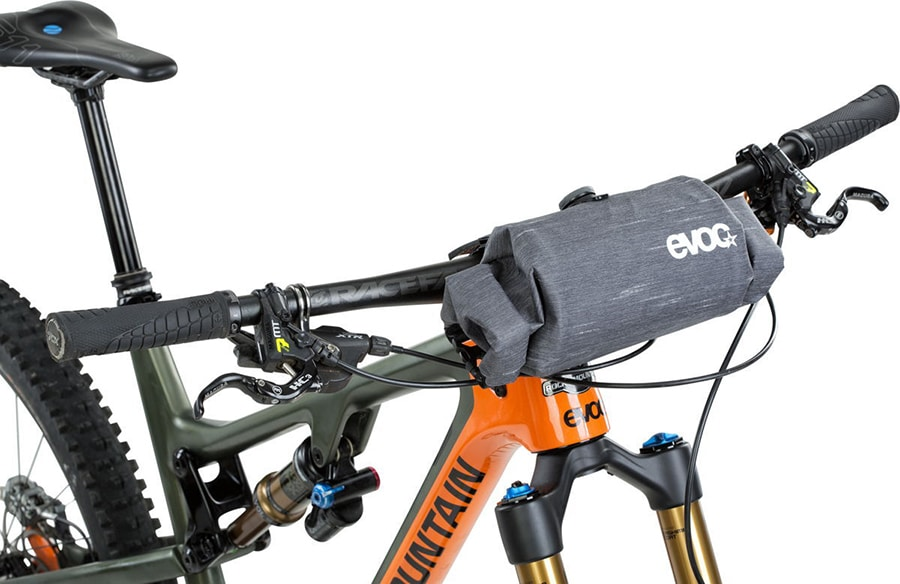 The Evoc Handlebar Boa is adjustable and accessible from both left and right ends. Image Credit: EVOC