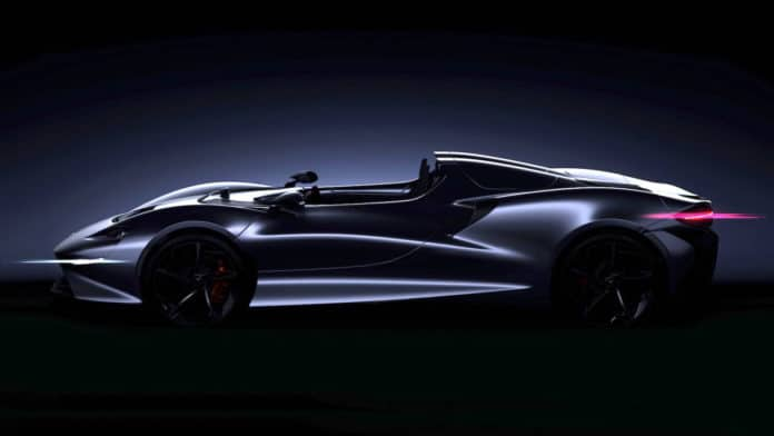 An all-new Ultimate Series McLaren supercar teased