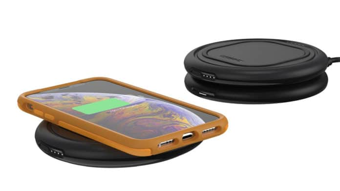 OtterSpot, the world's first expandable charging system. Image Credit: OtterBox