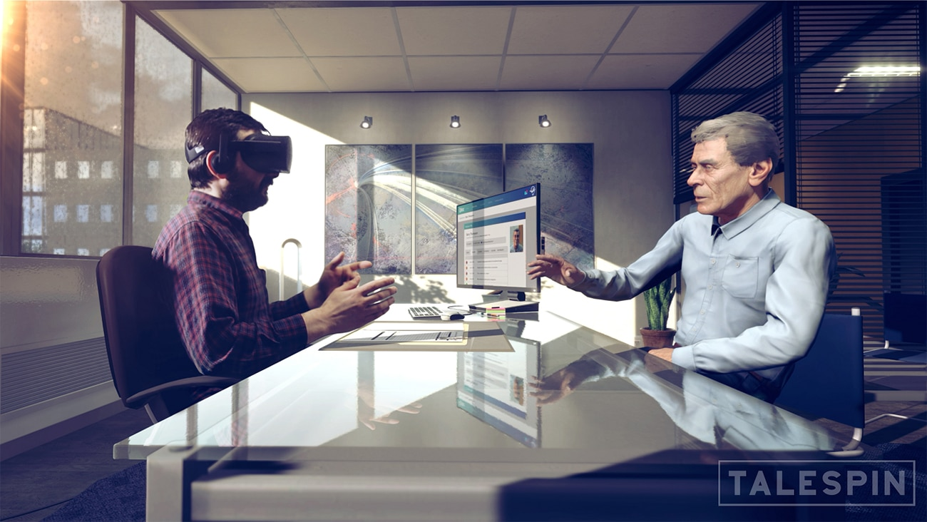 Talespin's Virtual Humans can help teach soft skills in the workplace