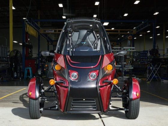It capable of driving up to 164 kilometers on a single battery charge.