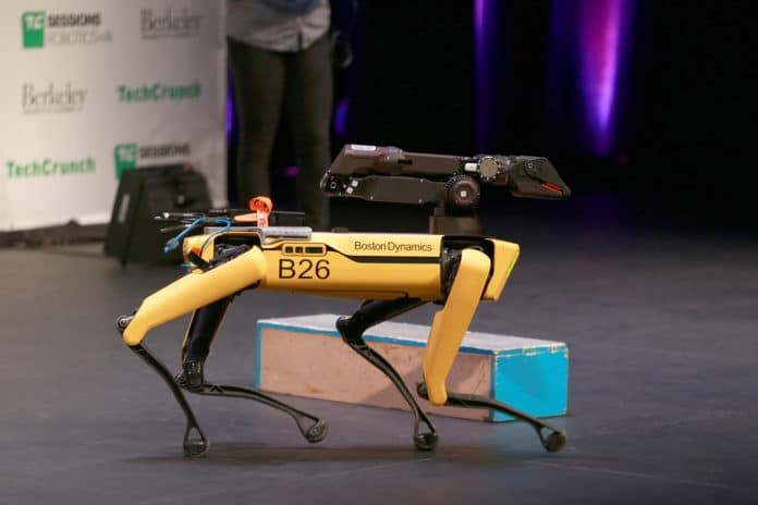 Spot, the first robot for sale by Boston Dynamics