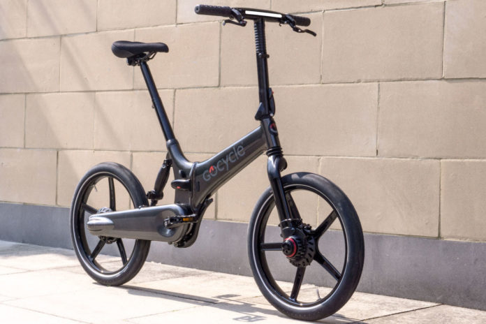 Fast-folding gocycle GXi