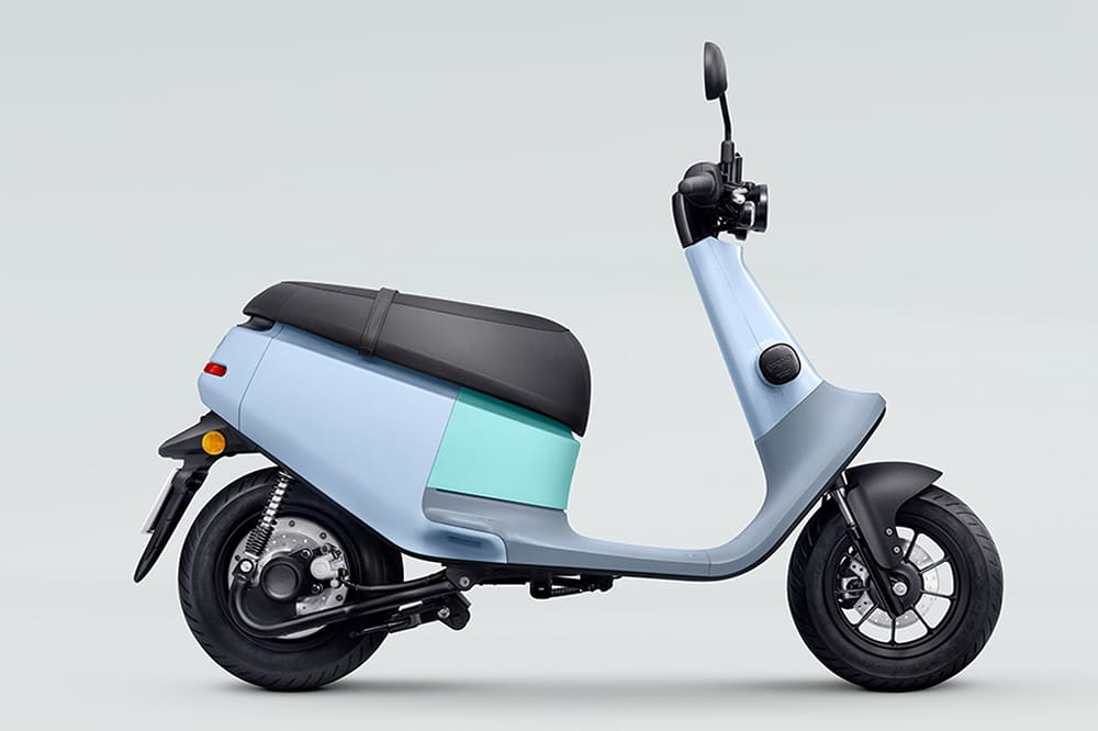 Gogoro VIVA has around 80 km (50 mi) of range.