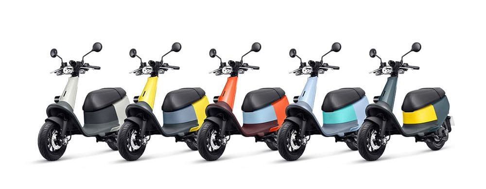 Gogoro VIVA is really colorful and smart electric scooter