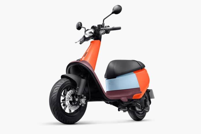 A smart electric scooter with battery-swapping tech