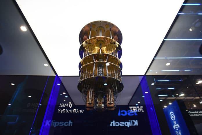 IBM's 20-qubit quantum computer