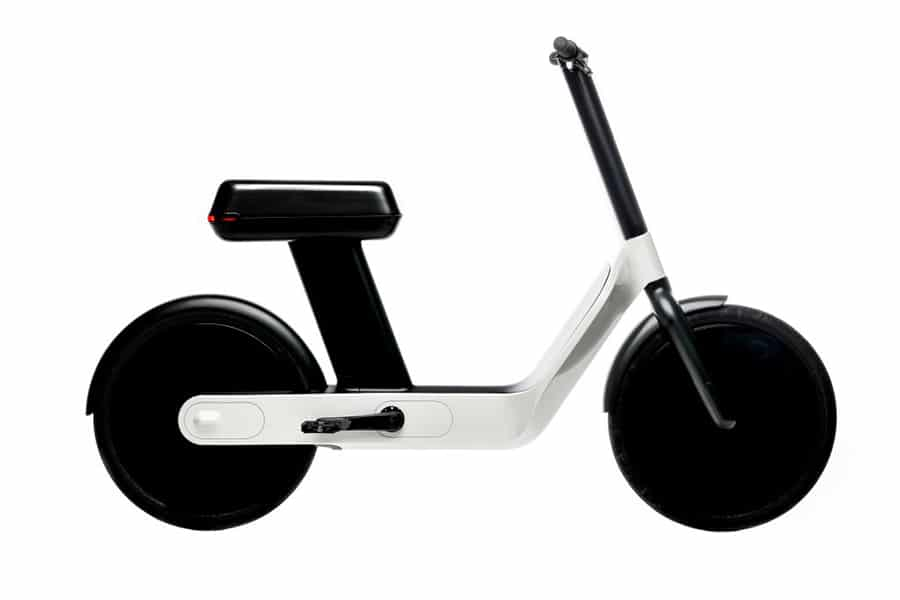 The Oslo electric bicycle impresses with its totally unique design