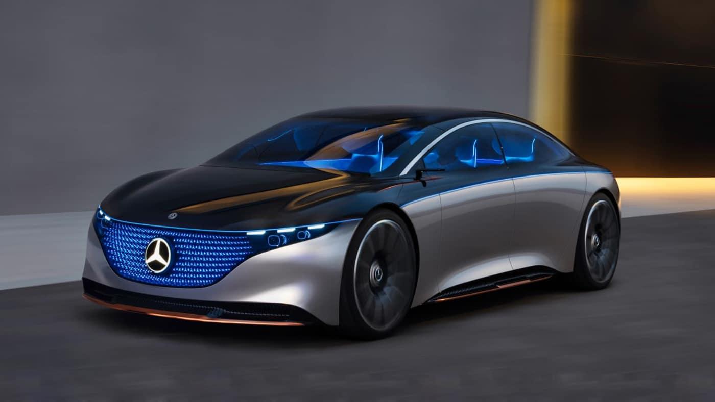 Mercedes reveals Vision EQS concept for its future vehicle ...