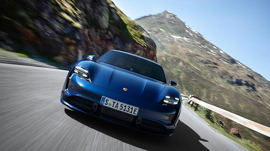 Pure exterior design. Image Credit: Porsche