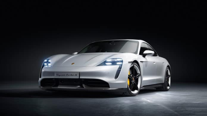 Porsche's Tesla P100D - the new 761hp Taycan EV!