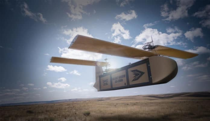 Silent Arrow GD-2000 cargo delivery drone