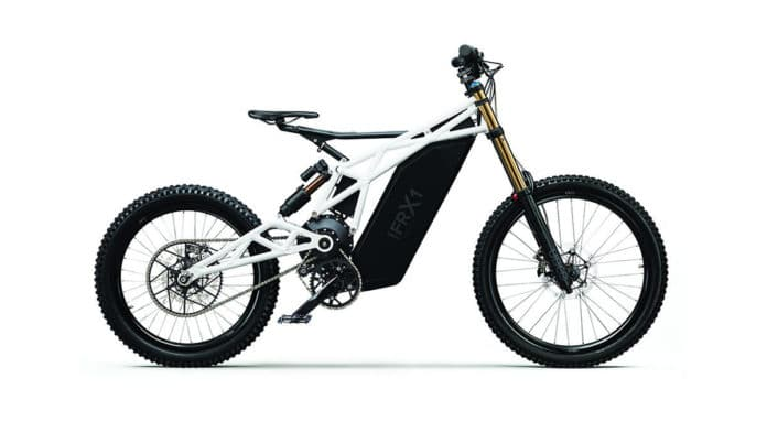 The UBCO FRX1 Freeride Trail Bike